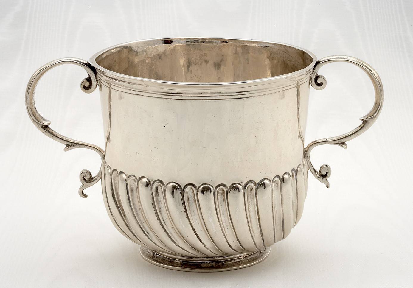 Two Handled Silver Cup